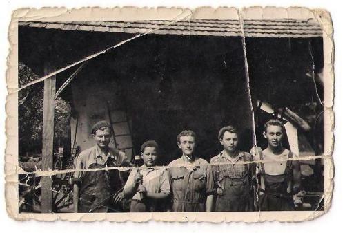Régi képek - Kovácsok
