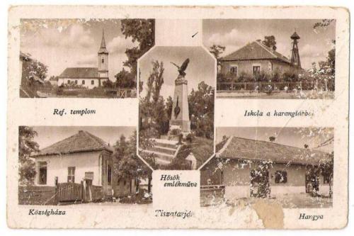 Régi képek - Tiszatarjáni levelezőlapok